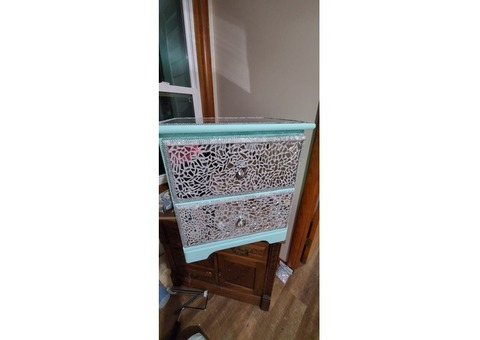 Bedazzled night stand $200 OBO
